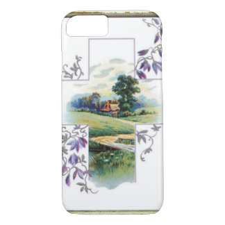 Countryside Christian Cross Case-Mate iPhone Case