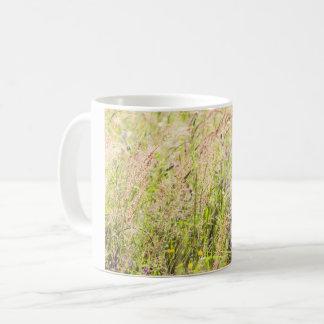 Countryside flowers coffee mug