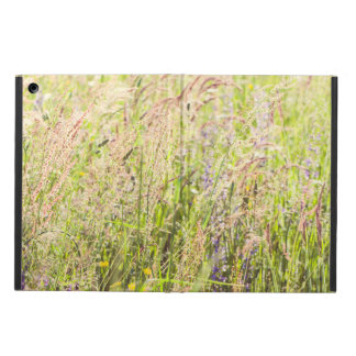 Countryside flowers cover for iPad air