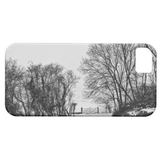Countryside in the Snow iPhone 5 Case
