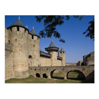 Counts Castle, Carcassonne, Aude, Languedoc, Postcard
