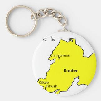 County Clare Keychain