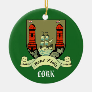 County Cork Ireland Christmas Ornament