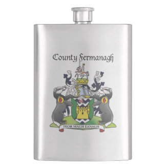 County Fermanagh 8 oz. Flask