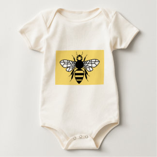 County Flag of Greater Manchester Baby Bodysuit