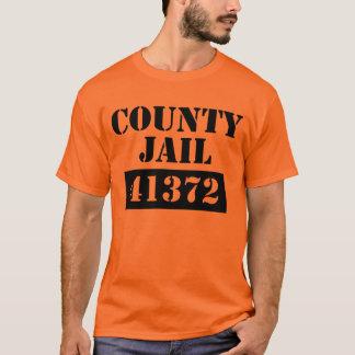 County Jail Halloween Custome T-Shirt