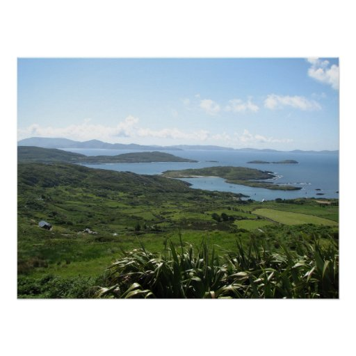 County Kerry, Ireland Poster