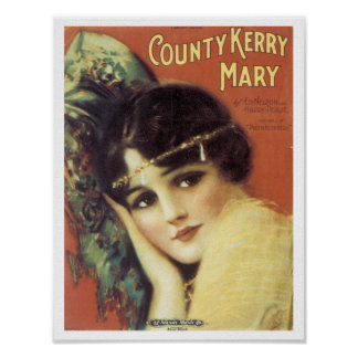 County Kerry Mary poster