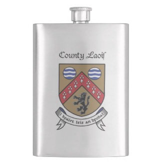County Laois 8 oz. Flask