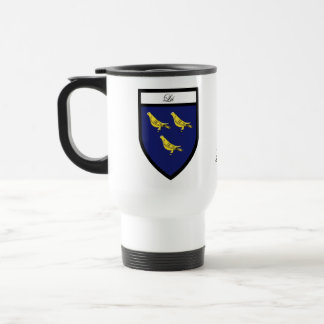 County Louth Map & Crest Mugs