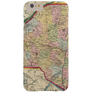 County Map Of The States Of New York Barely There iPhone 6 Plus Case