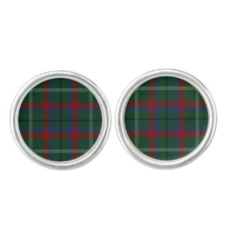 County Mayo Irish Tartan Cufflinks