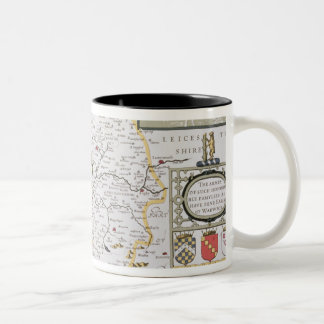 County of Warwick, Shire Town and City of Two-Tone Coffee Mug