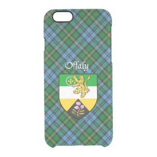 County Offaly iPhone 6 Clear Case