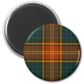 County Roscommon Irish Tartan Magnet