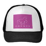 COUNTY SADDLERY DRESSAGE T SHIRT TRUCKER HATS