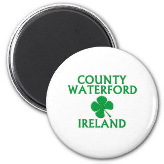 County Waterford, Ireland 2 Inch Round Magnet