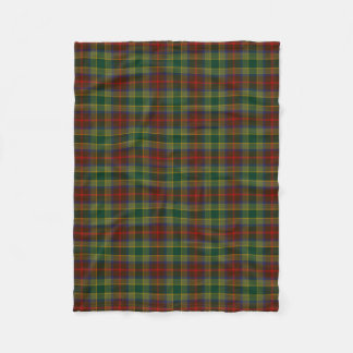 County Waterford Irish Tartan Fleece Blanket