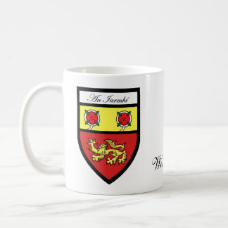 County Westmeath Map & Crest Mugs