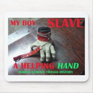 COUP DE MAIN SLAVE TAPIS DE SOURIS