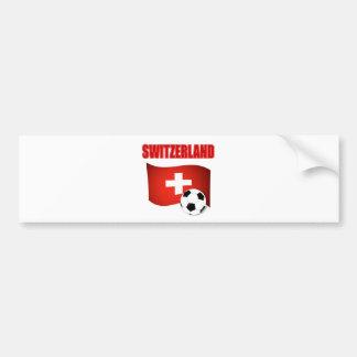 coupe du monde du football du football de la Suiss Autocollant De Voiture