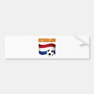 coupe du monde du football du football de netherla adhésif pour voiture