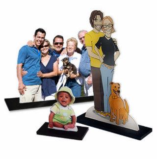 Coupes-circuit acryliques de photo photo sculpture