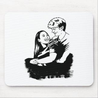 Couple 2 mouse pad