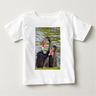 Couple black swans baby T-Shirt