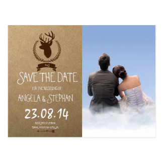 couple boy girl love clouds/Wedding Invitation Postcard