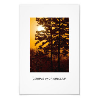 COUPLE by CR SINCLAIR Photographic Print