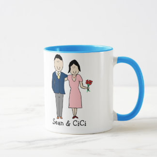 Couple - custom colors mug