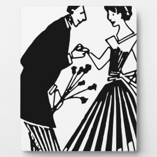 Couple Drawing Plaque