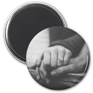 Couple hands magnet