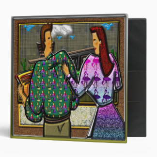Couple Holding Plaque II Binder