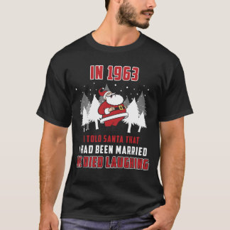 Couple In 1963 T Shirts.Christmas Gifts T-Shirt