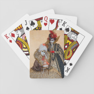 Couple in Carnival Costume, Venice Playing Cards