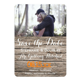 "Couple In Love Tenderly Embraces/Save The Date 5"" X 7"" Invitation Card"