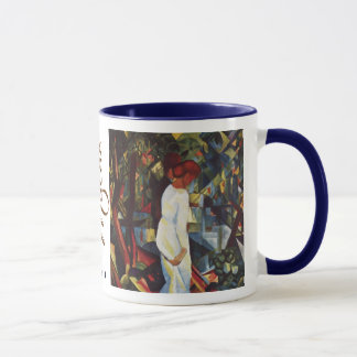 Couple in the Woods by August Macke Mug