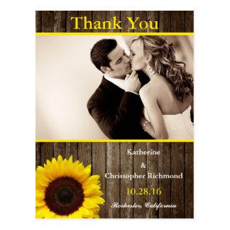 Couple Kiss Wedding Sepia Postcard
