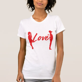 Couple Love Romantic Woman T-Shirt
