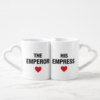 Couple Mugs Emperor and Empress