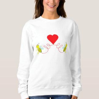 couple of bees sweatshirt