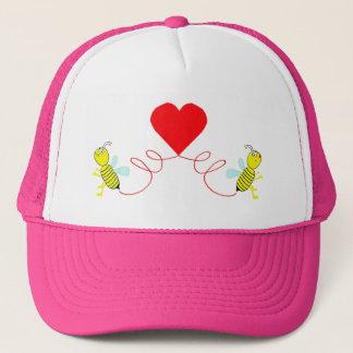couple of bees trucker hat