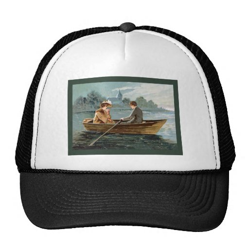 Couple on the River Trucker Hat