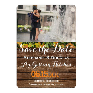 "Couple romance kiss in fountain/Save The Date 5"" X 7"" Invitation Card"