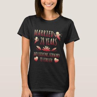 Couple Shirt Ideas. 28th Anniversary Gift.