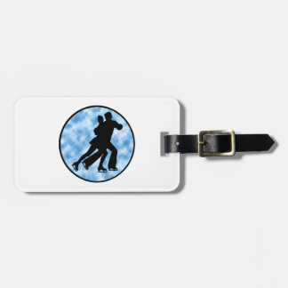 Couple Skate Luggage Tag