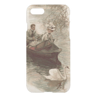 Couple Swan Boat Date iPhone 7 Case