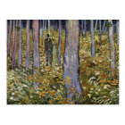Couple Walking In The Forest By Vincent Van Gogh Postcard